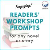 Reader's Workshop Prompts For ANY Novel or Story