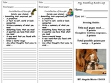 Reader's Workshop Reading Log Book Mark... Comprehension Checks