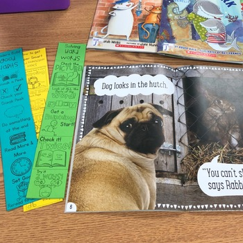 Readers Workshop Reading Strategies Posters and Bookmarks