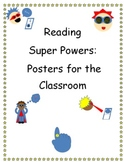 Reader's Workshop: Reading Super Powers Posters