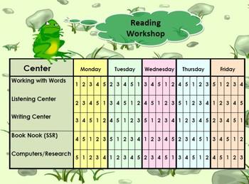 Reader's Workshop Resource Packet