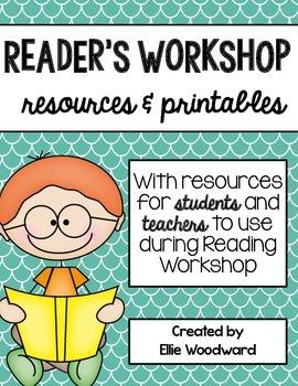 Reader's Workshop Resources and Printables