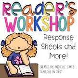 Comprehension Graphic Organizers: Reader's Workshop