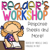 Comprehension Graphic Organizers: Reader's Workshop