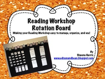 Reader's Workshop Rotation Board
