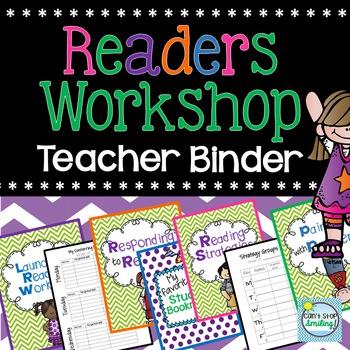 Readers Workshop Teacher Binder