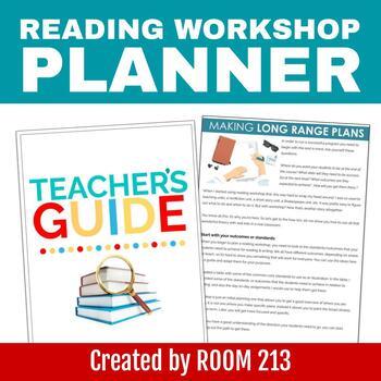 Reader's Workshop Teacher Planner