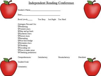 Readers Workshop Teacher Printables