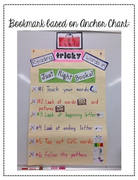 """Reader's Workshop """"Toolbox"""" for Reading Tricky Words in Just Right Books!"""