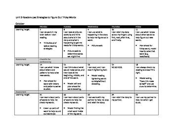 Readers Workshop: Tricky Words (Unit 2)