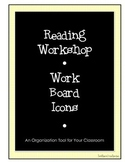 Reader's Workshop Work Board Icons