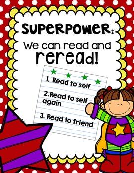 Readers Workshop in Kindergarten Using Our Superpowers