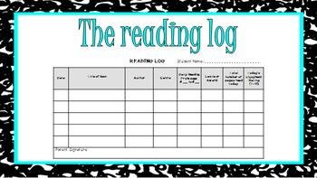 Reader's & Writer's Notebook