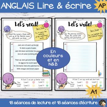 Readers & Writers Workshops - ESL-EFL A1 level