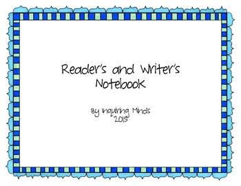 Reader's and Writer's Notebook