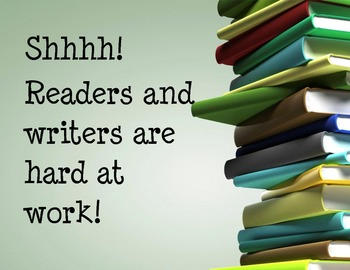 Readers and Writers are Hard at Work!