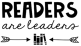 Readers are Leaders - PNG File