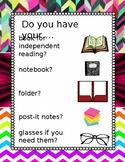 Readers workshop Reminder Poster