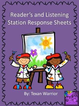 Reader's/Listening Response Sheets