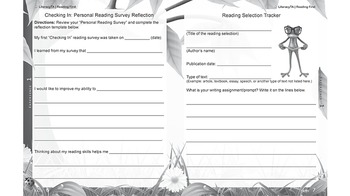 Reading First Literacy Skills Activity Book