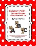 Readiness Skills – Leveled Books Kindergarten Levels A/B