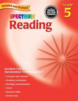 Spectrum Reading Grade 5 SALE 20% OFF! 0769638651