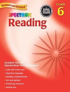 Spectrum Reading Grade 6 20% OFF! 076963866X