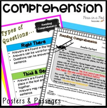 Reading Comprehension Passages  Strategies, Worksheets, Activities