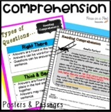 Reading Comprehension Passages and Questions 3rd, 4th, 5th, 6th   Color Coding