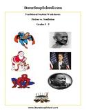 Grades 3- 5: Compare/ Contrast: Gandhi, Obama, Superman fo