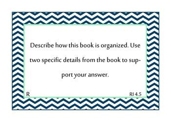 TRC mClass Reading 3D Question Stem Cards