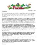 Reading Program Letter