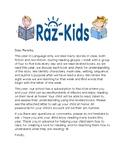 Reading RAZ-Kids