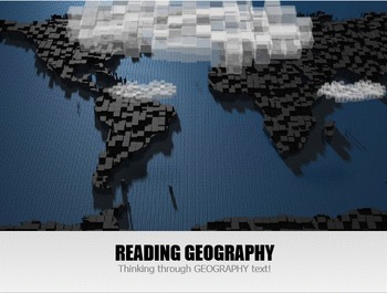 Reading A Geography Textbook - Interactive and Animated Powerpoint