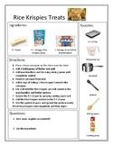 Reading A Recipe: Rice Krispies Treats