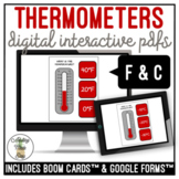 Reading A Thermometer Digital Activity