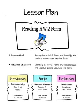Reading A W-2 Form Lesson