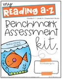 Reading A-Z Benchmark Binder