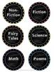 Reading A-Z Bin & Library Labels
