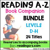 Reading A-Z Companion Bundle {Levels D-H}