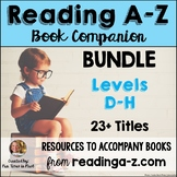 Reading A-Z Companion Bundle {Levels D-H}
