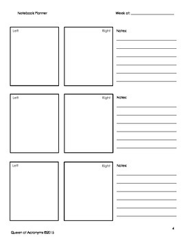 Reading A-Z: Interactive Notebook Supplemental Lesson: Landfills Level Q