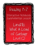 Reading A-Z: Interactive Notebook Supplemental Lesson: Lan