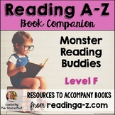 Reading A-Z Level F Companion~ Monster Reading Buddies