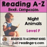 Reading A-Z Activities: Night Animals (Level F)