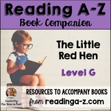 Reading A-Z Level G Companion~ The Little Red Hen