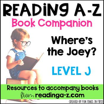 Reading A-Z Level J Companion~ Where's the Joey?