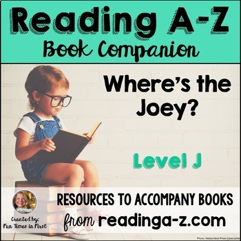 Reading A-Z Activities: Where's the Joey? (Level J)