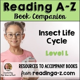 Reading A-Z Companion: Insect Life Cycle (Level L)