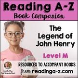 Reading A-Z Level M Companion~ The Legend of John Henry